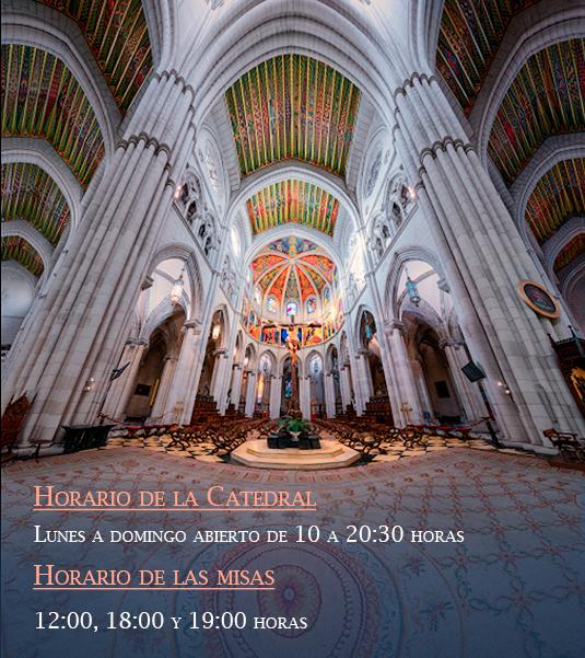 Horarios_catedral_almudena_madrid